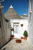 Typical trulli house in Alberobello, Italy Stock Photos