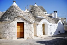 Typical trulli houses in Alberobello, Italy Stock Photography