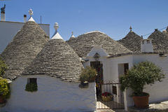 Typical trullo of alberobello Stock Photo