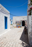 Typical tunisian pottery shop - Tunisia Stock Photography