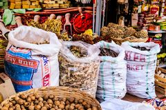 Turkish Spice Bazaar Stock Photography