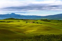 Typical Tuscan beautiful view. Royalty Free Stock Photos