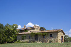 Typical tuscan house Stock Photography