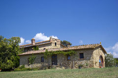 Typical tuscan house Stock Photo