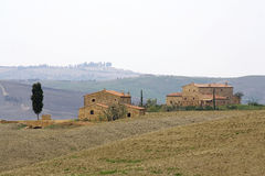 Typical tuscan landscape Stock Photo