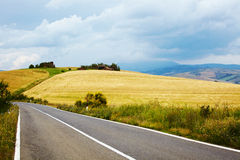 Typical tuscan landscape Royalty Free Stock Images