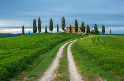 Typical tuscan landscape. Image of typical tuscan landscape stock photography
