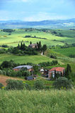 Typical Tuscan landscape. Italy Stock Photography