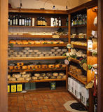 Typical Tuscan product store Stock Image