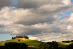 Typical tuscany countryside Royalty Free Stock Photography