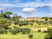 Typical Tuscany house Royalty Free Stock Photos