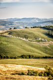 Typical Tuscany Landscape Stock Photo