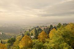 Typical Tuscany landscape, Italy Stock Image