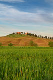 Typical Tuscany landscape springtime. In Italy,Europe Stock Images