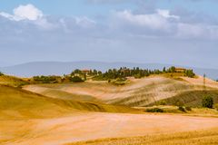 Typical Tuscany landscape stock image