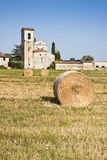 Typical Tuscany Romanesque church Stock Image