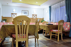 Typical Tyrolean dining room Stock Images