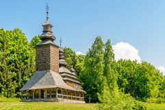 A typical ukrainian antique orthodox church Stock Photography