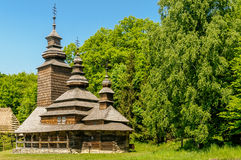 A typical ukrainian antique orthodox church Royalty Free Stock Photography