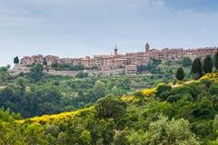 Typical Umbria Landscape Stock Photo