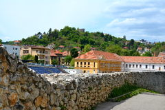 Typical urban landscape in Brasov, Transylvania Stock Photography