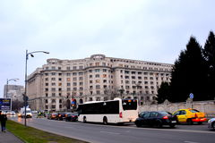 Typical urban landscape in the center of Bucharest - Bucuresti Royalty Free Stock Images