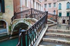 Typical Venetian bridge Stock Photos