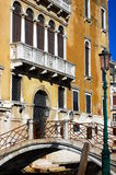 Typical venetian building. Venice, Italy Royalty Free Stock Photography
