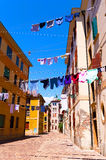 Typical Venetian street Royalty Free Stock Photos