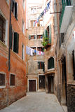 A Typical Venetian View Royalty Free Stock Images