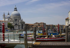 Typical venetian view Royalty Free Stock Photos