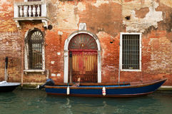 Typical Venice building. Stock Image