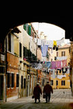 Typical Venice Calle Royalty Free Stock Photo