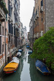 Typical Venice canal Stock Photography