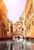 Typical Venice street Royalty Free Stock Photo