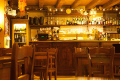 A typical Verona Bar, Italy Royalty Free Stock Image