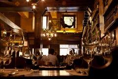A typical Verona restaurant. The interior of a typical stylish Veronese Restaurant in the city centre Stock Photo