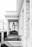 Typical Victorian facades in London Royalty Free Stock Images