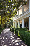 Typical victorian urban house in Charleston Royalty Free Stock Images