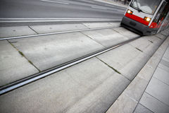 Typical Viennese transport Stock Images