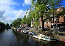 Typical view of Amsterdam Stock Image