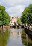 Typical view of Amsterdam 3. Typical view in the center of Amsterdam royalty free stock image