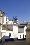 Typical view of a Castilian town Royalty Free Stock Photos