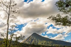 A typical view in Costa Rica stock photo
