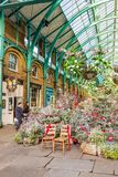 A typical view in Covent Garden royalty free stock photo