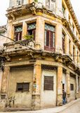 A typical view in Havana in Cuba stock image