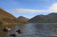 Typical view on the Lake District Royalty Free Stock Photos