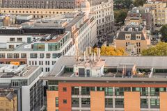 A typical view in London royalty free stock image