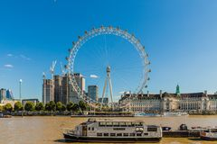 A typical view in London royalty free stock photo