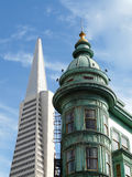 Typical view in San Francisco Royalty Free Stock Photography